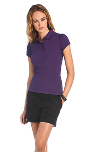 B&C Ladies Heavymill Polo