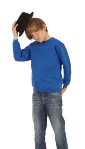 B&C Kids Set-In Sweatshirt